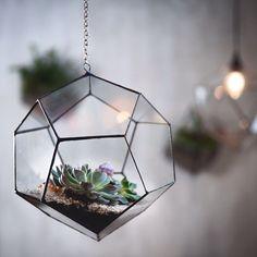#blossomuniverse #handmade #glass #terrarium #succulent #gem #gemstone #boho #loft #flowers #design #blossomuniverse