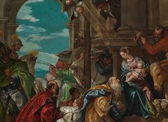 Detail from Paolo Veronese, 'The Adoration of the Kings', 1573