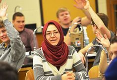 Zahra Tahir '16 was 18 years old before she sat in her first classroom. Now she does everything she can to make sure she'll receive a college diploma. #cordmn