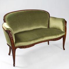 """Louis Majorelle French Art Nouveau """"Auberpines"""" Salon Suite image 2"""
