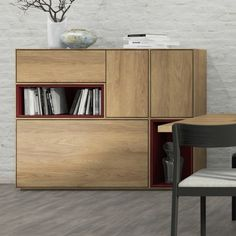 Oplemenjena iverica Egger H3730 Hickory Natur Credenza, Cabinet, Living Room, Storage, Kitchen, Furniture Ideas, Home Decor, Natural, Clothes Stand
