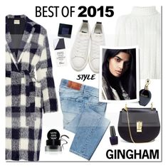 """""""The Hottest Trend of 2015: Gingham"""" by mada-malureanu ❤ liked on Polyvore featuring Sea, New York, Two Women In The World, Chloé, Golden Goose, OPI, Cacharel, Bobbi Brown Cosmetics, Christian Dior, Roberto Cavalli and NYX"""