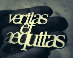 Veritas et aequitas truth and justice by UntamedMenagerie