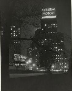 General Motors building, Columbus Circle, 1930s