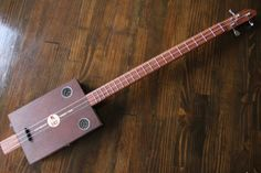 Cigar Box Guitar 3 String by MonkeyPox on Etsy, $110.00