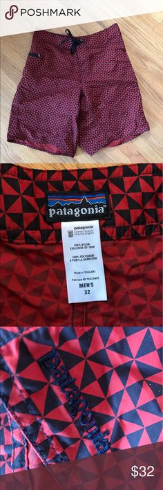 Patagonia men's Board Shorts No rips or stains, perfect for running, surfing or swimming! Patagonia Shorts Athletic