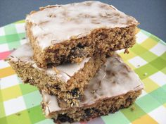 Recipe of the Day: Raisin Bar Sheet Cake