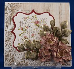 look at the roses MagPie's Corner: Heartfelt Creations Wednesday....