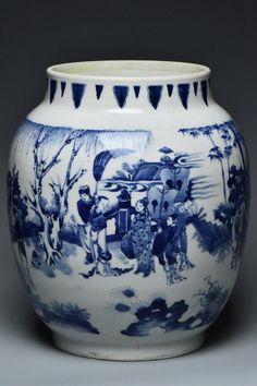 Buy online, view images and see past prices for Chinese Blue and White Jar Transitional Period. Invaluable is the world's largest marketplace for art, antiques, and collectibles.