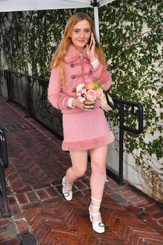 Kathryn Newton at W Magazines It Girl Luncheon Girls Luncheon, Kathryn Newton, Elisha Cuthbert, W Magazine, Harajuku, Actresses, Stars, People, How To Wear