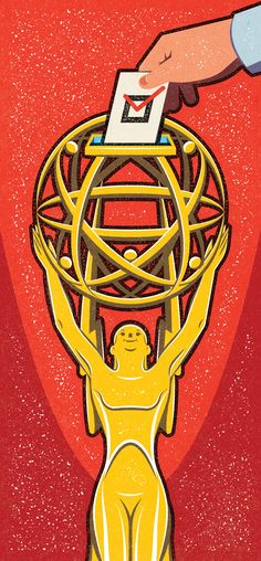 Emmys Voters' Guide. © Alexei Vella. Client: Variety Magazine. #editorial #advertising #conceptual #illustration salzmanart.com