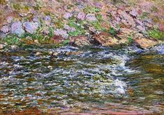 Rapids on the Petite Creuse at Fresselines, Claude Monet, 1889