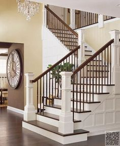 3 deux couleurs 37 crainte inspirants escaliers que vous aurez envie ides pour la maisondco - Decoration Escalier Interieur Maison