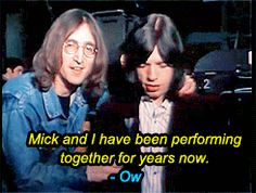 John and Mick awesomeee