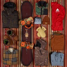 While we can't guarantee this kit will give you style just like Danny Davis, at least you'll look the part. | #13Things Burton.com Survival Kit, Snowboarding, Your Style, At Least, Boots, Winter, Snow Board, Crotch Boots, Winter Time