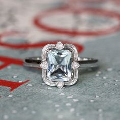 Charming 1920s vintage diamond engagement ring or right hand ring in 14K gold with platinum head/prongs. Description from weddbook.com. I searched for this on bing.com/images