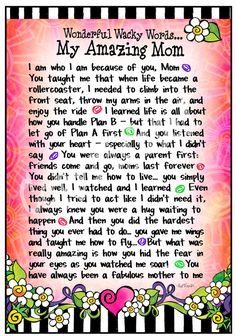 Words I will never hear from my son ... wished he knew how much I cared for him from the day of conception to now. Love you with all my heart & soul