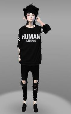 Emo couple (Male) IF YOU PIN THIS DO NOT REMOVE CAPTION THIS IS MY OUTFIT ON IMVU PLEASE DO NOT STEAL