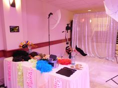 This was a photo booth set up in the Millennium Ballroom at the Avalon Events Center in Fargo, ND.