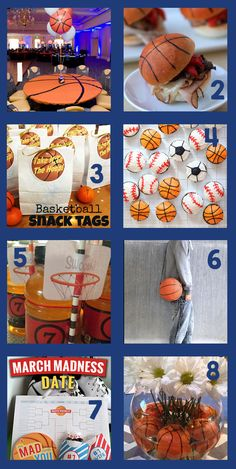 March Madness � 16 Sweet Ideas
