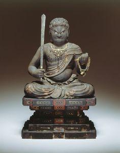 Japan Fudo Myo-o, 12th/14th century Art Institute Chicago