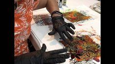 Stencils and Alcohol Ink