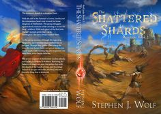Red Jade: Book 2: The Shattered Shards book cover with text. Cover art by Fyodor Ananiev. Released February 4, 2016. tinyurl.com/rj2