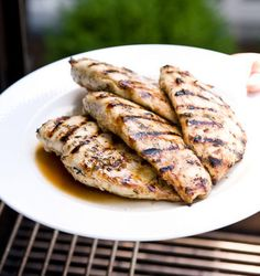 Perfectly Grilled Chicken Breast With Marinade