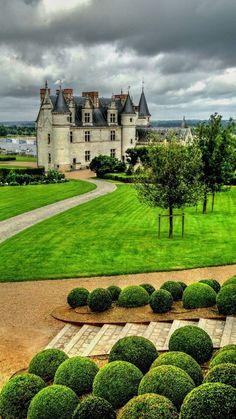 Castelo d'Amboise, na França.