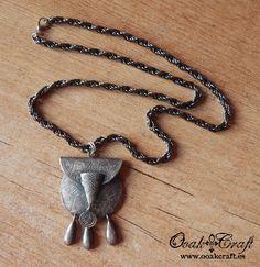 "Ooak☥Craft - 'Druid's bag' necklace > Collar ""Druid's bag"""