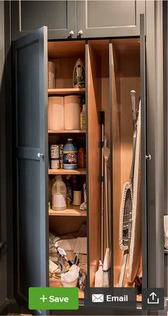Utility Cabinet Plans 24 Inch Broom Closet Decorating Ideas Pinterest Utility Cabinets