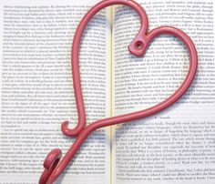 """Heart Wall Hook  by Juxtaposition  Cast iron hook measures approx. 5.25"""" x 8.25"""" and easily hangs from one screw (included, painted to match)."""