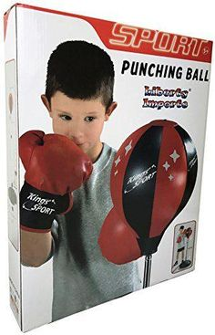 Liberty Imports Sport Punching Bag With Gloves Best Punching Bag, Punching Ball, Sports Toys, Kids Sports, Kids Bags, Liberty, Gloves, Stuff To Buy, Political Freedom
