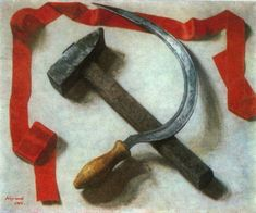 Hammer and sickle. William Nicholson, Soviet Art, Soviet Union, Eat The Rich, From Here To Eternity, Hammer And Sickle, The Man From Uncle, Socialist Realism, Helmut Newton