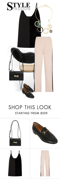 """""""S U M M E R //"""" by statuslusso ❤ liked on Polyvore featuring Loewe, Gucci, By Malene Birger, MM6 Maison Margiela, Marni, summerstyle, polyvoreeditorial, polyvorefashion and summer2017"""