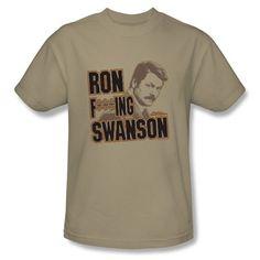 Ron F***ing Swanson!