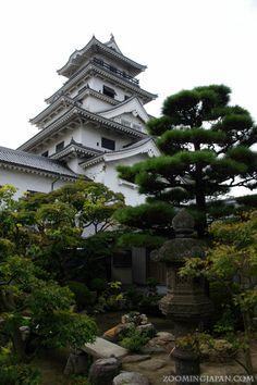 Beautiful Imabari Castle in Ehime Prefecture.