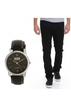 Make you best friend delighted gifting this combo of Men's Jeans With Watch from the house of Stylox. #mensjeans #giftpacksforfriendshipday #friendshipdaygiftideas #watchesformen #shopforfriendshipdayspecialgiftsonline Shop here- https://trendybharat.com/trendy-pitara/style-box/men-jeans-with-watch-dn-wh-d1003-cmbo