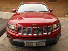 2015 Red Jeep Compass 2.0L Limited www.isellcarz.co.za contactus@isellcarz.co.za