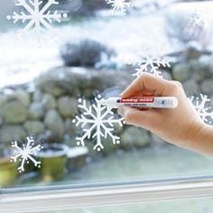 Des flocons de neige à vos fenêtres - Marie Claire Idées