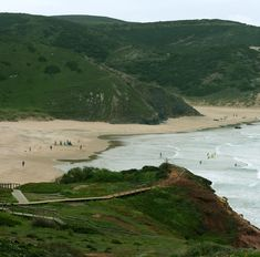 Amado beach in the Southwest Alentejo and Costa Vicentina Natural Park is one of the surf spots visited in the surf trip south coast! Join us at www.ride351.com/surf-trips-portugal.php#south-coast