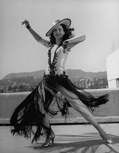 Hollywood musical star and tap dancing legend Ann Miller