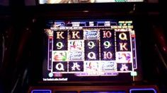 Golden Knight slot machine bonus 2 retriggers at Revel Casino, via YouTube.