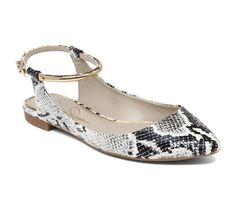 Spring Accessories Under $100: Shoes! Jessica Simpson Zamma Faux Leather Pointy Flat, $69 #SELFmagazine