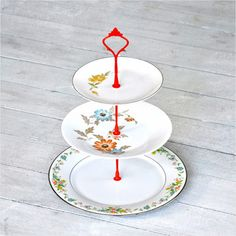 Meadowlark Cake Stand now featured on Fab.