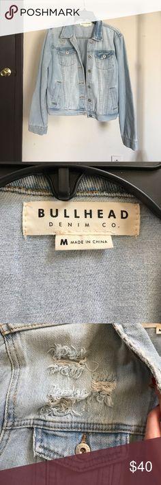 Bullhead Denim Co Jacket Light denim wash jacket. Bought from Pacsun 1 year ago. Never worn. Jackets & Coats Jean Jackets