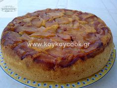 ΜΗΛΟΠΙΤΑ TATIN ΜΕ ΠΑΝΤΕΣΠΑΝΙ Cake Pops, Pie, Sweets, Desserts, Christmas, Yum Yum, Food, Lemon, Cakes