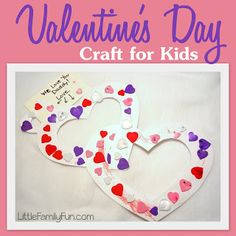 Little Family Fun: Valentine's Day Crafts & Activities for kids!