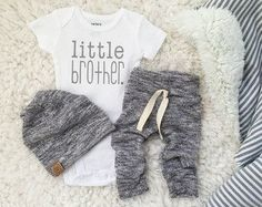 Baby Bear baby boy take home outfit by PaisleyPrintsSpokane