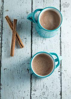Coconut Milk Hot Chocolate #Paleo